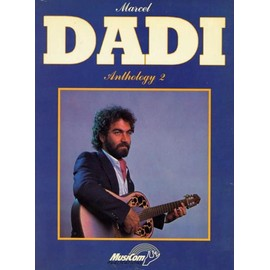 PARTITION GUITARE MARCEL DADI ANTHOLOGY 2