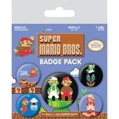 Super Mario Bros. Pack 5 Badges