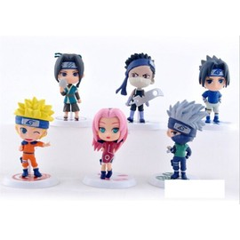 Figurines Manga Naruto Shippuden Lot De 6 Figurines