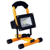 Showlite Wl-5010a Led Projecteur De Chantier Ip65 10 Watts 1100 Lumens