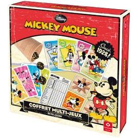 Coffret Multi Jeux Mickey Retro Edition