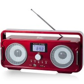 Black Panther City Funny Street Mini Ghetto Blaster Rouge