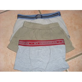 Cale�on Boxer 3 - 4 Ans