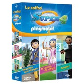 Le Coffret Super 4 (Inspir� Par Playmobil) : Attention Aux Dragons + Le Tournoi De Magie + Origines de Cyril Adam