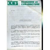 L'industrie Ferroviaire Francaise - Economie Et Conjoncture - Ccf N�826 de COLLECTIF
