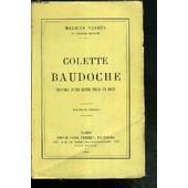 Colette Baudoche - Histoire D'une Jeune Fille De Metz - Nouvelle Edition de maurice barres