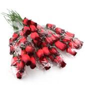 200 Roses En Bois Fleur Deco Mariage Bapteme Grossiste