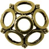 Coupelle M�tal Ronde � 24 Mm - Bronze - Megacrea