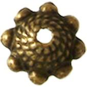 Coupelle M�tal � 8 Mm - Bronze - Megacrea