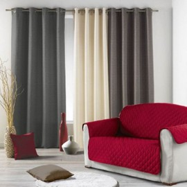 Prot�ge Canap� 3 Places Couleur Rouge 279x179 Cm 100% Polyester Gamme Club