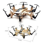 Mini Drone H�licopt�re 6 H�lices 2.4ghz + Radio T�l�command� 100m / Gd