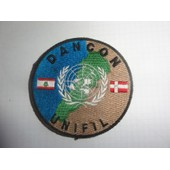 Patch Insigne Velcro Dancon Unifil (Op�ration Paix Au Liban)