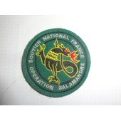 Patch Insigne Velcro Op�ration Salamandre (Bosnie)