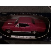 1967 Chevelle Ss 396 1:18 Motor Max Die Cast Collection
