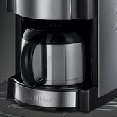 Russell Hobbs 21430-56 Cafeti�re Filtre Semi Automatique Avec Moulin � Caf� Isotherme Collection Buckingham