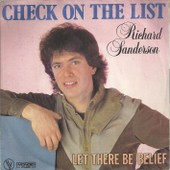 Check On The List (R. Sanderson) 3'29 / Let There Be Belief (R. Sanderson) 3'40 - Richard Sanderson