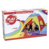 Play Tent - 145989 - Tente Igloo Avec 30 Balles En Plastique - Dim. 112x112x94 Cm