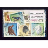 Bi�lorussie 25 Timbres Diff�rents