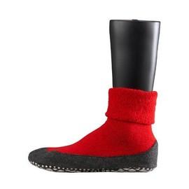 Falke - 16560 Cosyshoe Socke - Chaussettes �l�gantes - Mixte Adulte - Rouge V26 - 41/42
