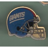 Pin's Casque Football Americain Giants Equipe Ref 774