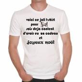 T-Shirt Humour Special Noel