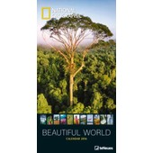Calendrier 2016 - National Geographic - Beautiful World - 33x64 Cm