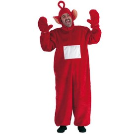 Costume Adulte Teletubbies Po - Taille M - Deguisement - Rouge - 836
