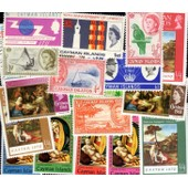 Caimanes - Cayman Islands 10 Timbres Diff�rents