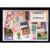 Caimanes - Cayman Islands 25 Timbres Diff�rents