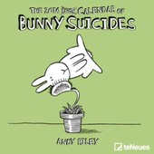 Calendrier 2016 - Bunny Suicides - 17,5x17,5 Cm