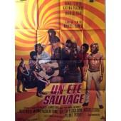 Affiche De Cin�ma - Un �t� Sauvage - Sign�e Mascii - Film De 1970 De Marcel Camus - Avec Nino Ferrer, Katina Paxinou, Marilu Topo