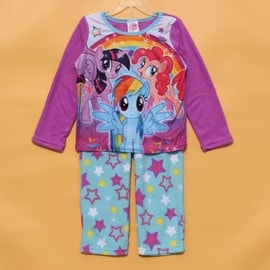 Pyjama Polaire Little Pony 4/6/8/10 Ans