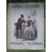 Facteur Et Cuisini�re Saynette Bouffe Comique Musique De H.C.De Ploosen