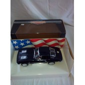 Corvette Sting Ray 1963 Noir Metal 1/18� American Muscle �dition Collector Ertl