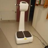 Appareil Fitness Plateforme Oscillante Fitcare Blanc