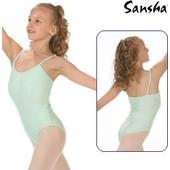 Justaucorps Fines Bretelles De Danse, De Marque 'sansha', Modele: E506m Angela.