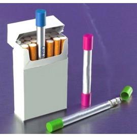 Astucieux Cendrier De Poche Tube Alu Forme Cigarette - Range M�got L'accessoire Anti Pv Pour Fumeur Paris Plage