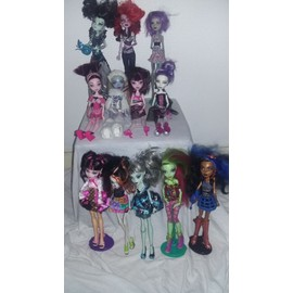 Lot De Poup�es Monster High + Acessoires