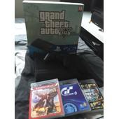 Ps3 500gb+ Gta V+ Uncharted 3 + Grand Turismo 6