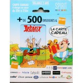 La Carte Cadeau Fnac Asterix Uderzo Goscinny Obelix Neuve Avec Son Support D'origine