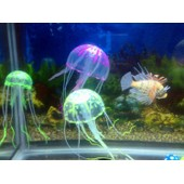 Acuarios Aquarium Fish Tank Decoration Artificial Simulation Of Jellyfish Fluorescent Glowing Effect Color Pink Ay270-Sz