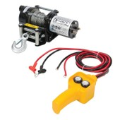Silverline - Treuil �lectrique 12 V Capacit� De Traction : 907 Kg