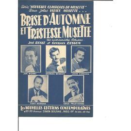 BRISE D'AUTOMNE et TRISTESSE MUSETTE ( 2 jolies valses Musette)