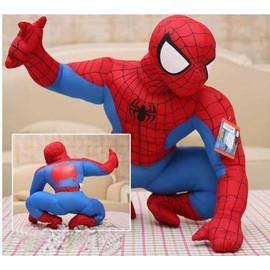 Peluche Personnage Geante Xl Spiderman Super Hero 50 Cm