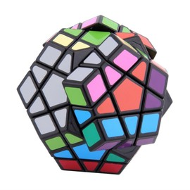 Inedit Magic Cube Magique Megaminx 3d Puzzle