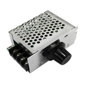 4000W 0-220V AC SCR Electric Voltage Regulator Motor Speed Control Controller with Shell SG203-SZ+