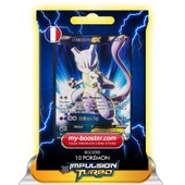 Mewtwo Ex Full Art 157/162 170pv Xy08 Impulsion Turbo - Booster De 10 Cartes Pokemon Francaises My-Booster
