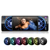 Autoradio Video Bluetooth Xm-Vrsu412bt / Bluetooth + Aux + Id3tag + Micro-Sd + Usb + Wma + 7-Colors + Am/Fm Radio
