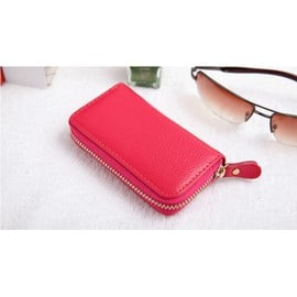 Candy Color Men Pu Leather Key Bag Handy Mini Coin Wallets Cover Holder Women Housekeeper Electronic Key Hanging Bb074-Sz+