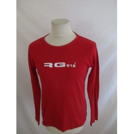 * T-Shirt Rg 512 Rouge Taille S � - 54%